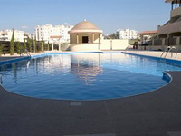 kato paphos apartment with communal pool